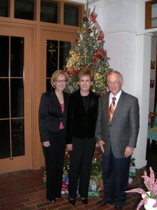 From left to right: Peri Widener, Luanne Widener and Wayne Widener