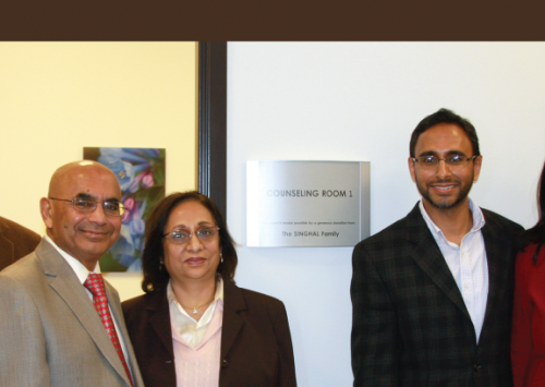 HudsonAlpha Foundation receives a $100,000 gift from the Singhal family