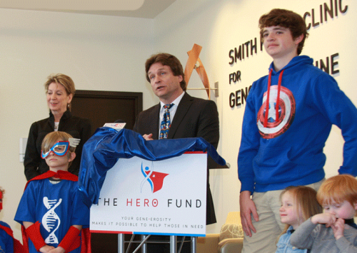 HudsonAlpha Foundation establishes 'Hero Fund'