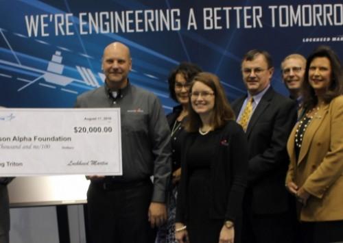 Lockheed Martin supports Touching Triton national launch