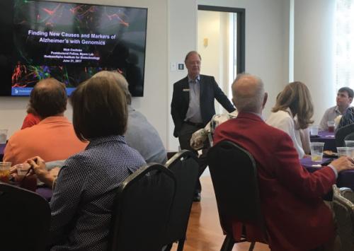 HudsonAlpha hosts events highlighting Alzheimer disease research